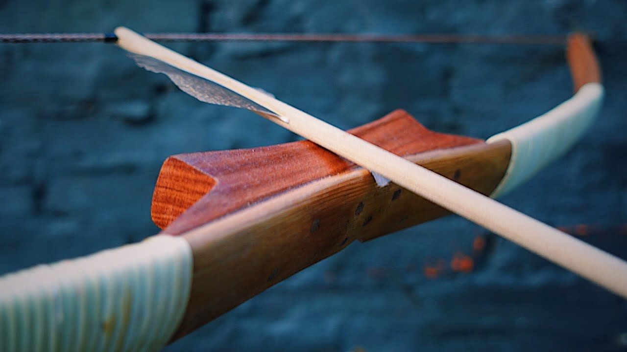 """Build """"The Smooth"""" Survival Bamboo Bow 