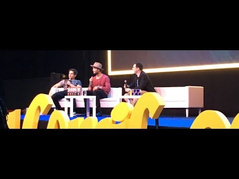 Dylan Sprayberry and Cody Saintgnue teen wolf panel at Warsaw Comic Con  22nd April 2018