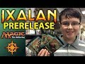 MTG Ixalan Prerelease Pack Opening - Check out the Newest Magic Cards!