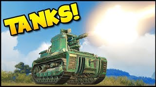 Crossout - TANKS! Tiger Tank, KV-2 Tank & StuG III (Crossout Gameplay)