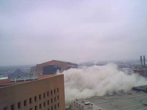 RCA Dome Demolition/Implosion Dec.  20, 2008