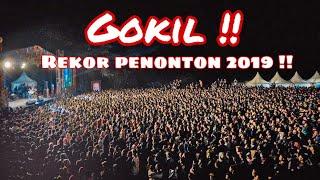 REKOR !! PENONTON TERBANYAK ARI LASSO TAHUN 2019 DI JAZZ TRETES