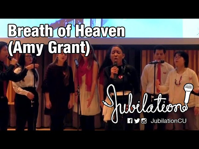 """Jubilation! - """"Breath of Heaven"""""""