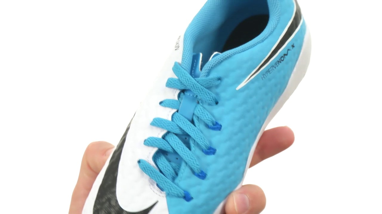 85c8cea6c Nike Kids Hypervenom Phinish II IC Soccer (Little Kid Big Kid) SKU 8799859. Shop  Zappos
