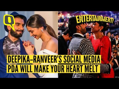 20 Times Deepika-Ranveer's Social Media PDA was Too Cute to