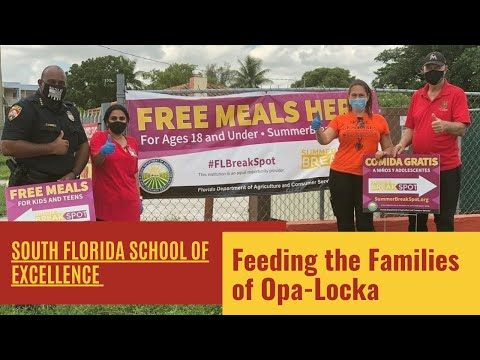 South Florida School of Excellence Supports Family Community Serving Meals-WSFL South Florida News