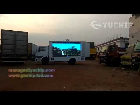 YUCHIP Digital Truck LED Display Mobile Advertising LED billboard  in India