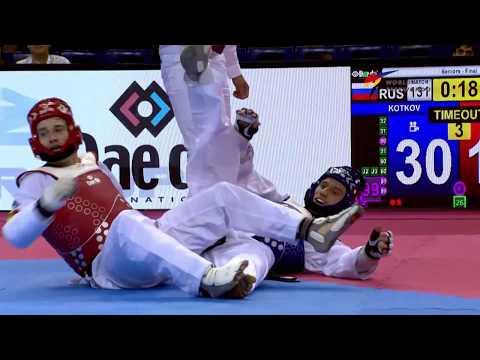 [Highlights] Male -80kg   Moscow 2017 World Taekwondo Grand Prix
