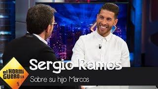 Sergio Ramos se rinde ante su hijo Marco: