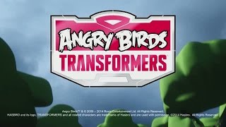 Angry Birds Transformers Announcement Trailer