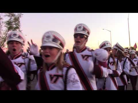 VT vs Clemson MV walk 9-30-2017