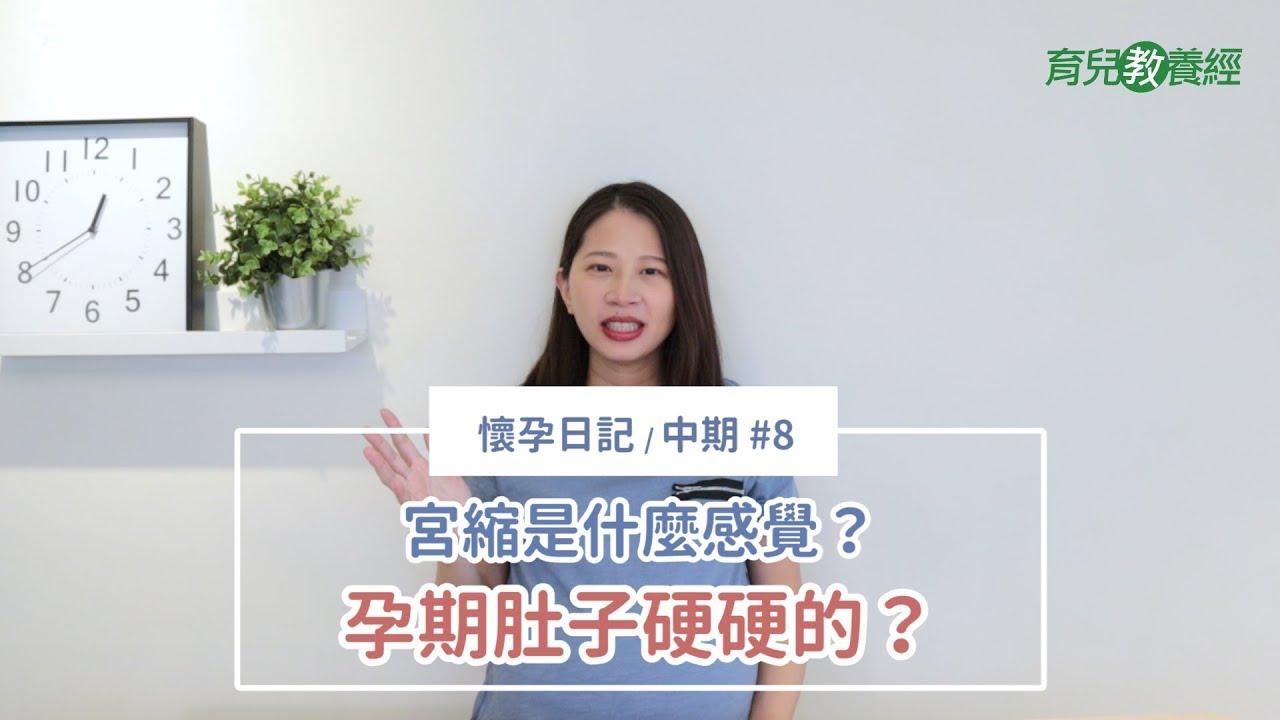 懷孕日記【中期】#8:第六個月(21-24週) - 肚子都會硬硬的!宮縮到底是什麼感覺? - YouTube