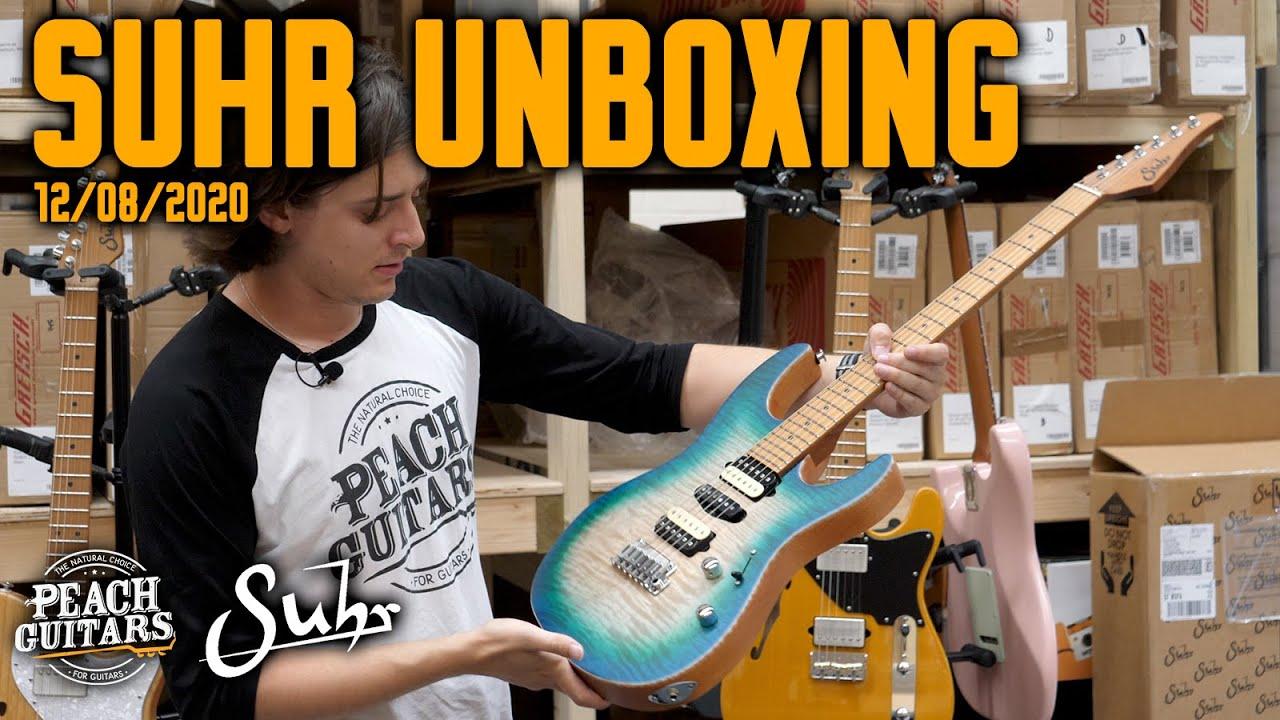 Suhr Unboxing (12/08/2020)
