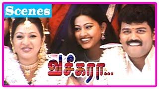 Vaseegara Tamil Movie | Scenes | Gayatri and Sriman get married | Vijay tricks Sneha