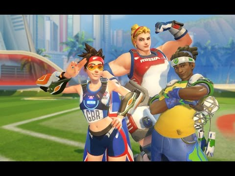 Rich Plays Overwatch - Rio Olympics Stuff