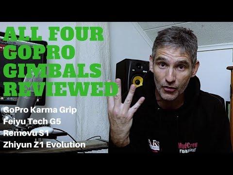 Ultimate Gimbal Review   Karma Grip vs Removu S1 vs Feiyu G5 vs Zhiyun Z1 Evo from YouTube · Duration:  12 minutes 20 seconds