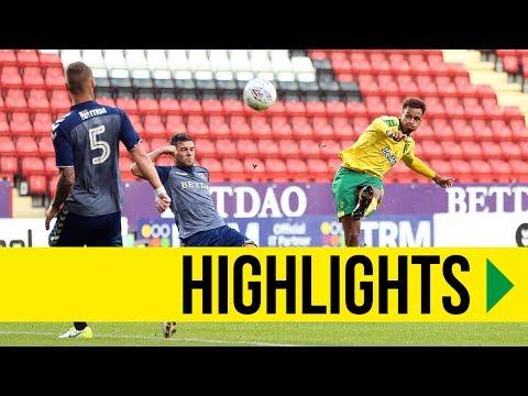HIGHLIGHTS: Charlton Athletic 0-2 Norwich City