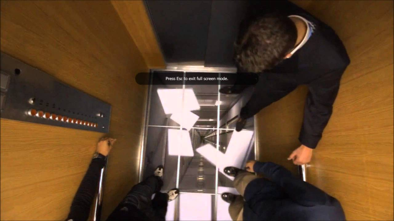 Lg elevator prank video so fake it39s scary youtube for Elevator floor prank