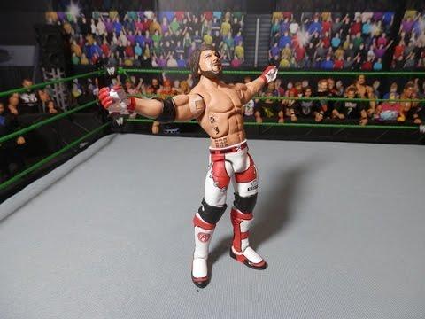 Wwe mattel wrestlemania 32 aj styles custom elite figure for Custom elite com