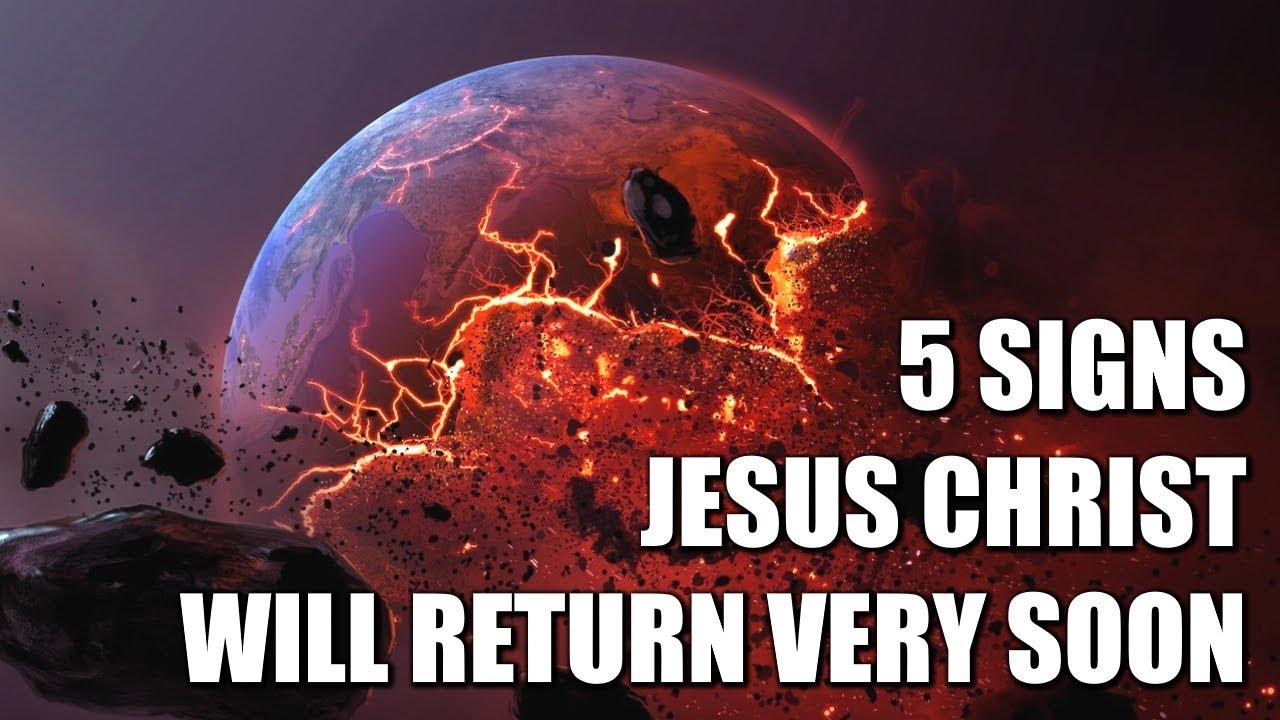 5 *SHOCKING* Signs Jesus Christ Will Return VERY Soon