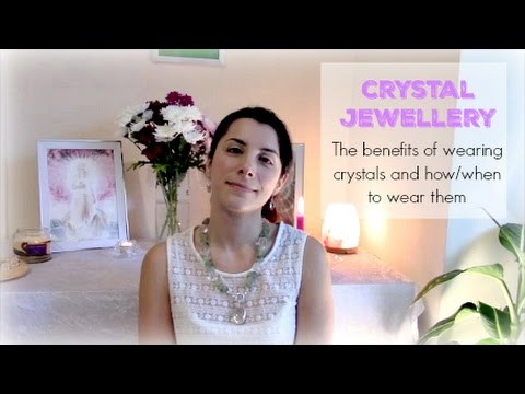 Crystal Jewellery - How and when to wear them