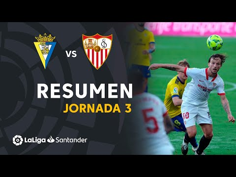 Cadiz Sevilla Goals And Highlights