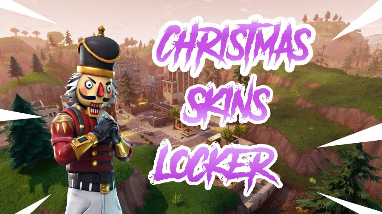 Locker Showcase ! Rare Christmas SKINS 🙀 - YouTube