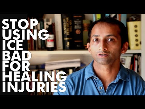 Stop using ice bad for healing injuries | Manu Kalia | Video 69 | TridoshaWellness