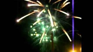 Artificii revelion 2008-2009 Ploiesti