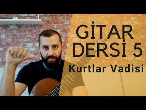 Gitar Nasıl Çalınır | Kurtlar Vadisi Cover Gitar Dersi 5
