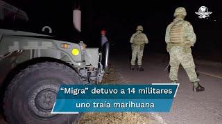 Los 14 soldados, su equipo y vehículos fueron devueltos a México horas más tarde de su detención, luego de que oficiales del ejército mexicano fueran a buscarlos