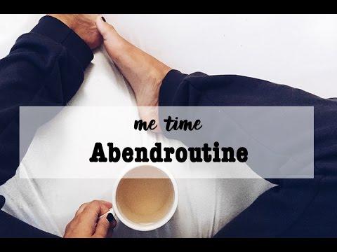 Me Time Abendroutine