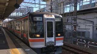 (激レア)JR東海 キハ75形 掛川駅通過