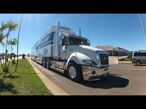 V8 Truck Parade Townsville 4th July 2012