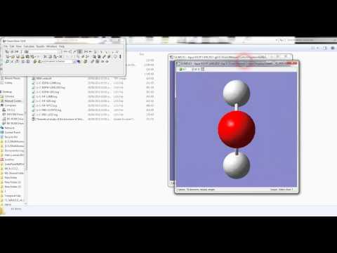 Dudas en Gaussian 09