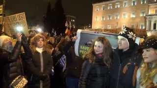 Митинг против войны в Донбассе