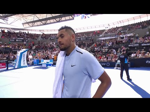Nick Kyrgios On-Court Interview (R2) | Brisbane International 2018