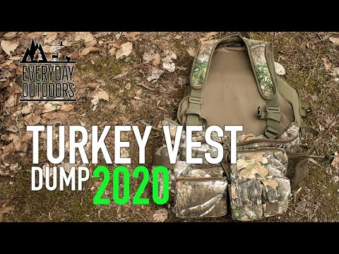 What's In My Turkey Vest?