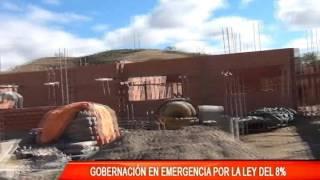 GOBERNACIÓN EN EMERGENCIA POR LEY DE 8%
