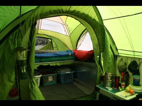 Living In A Camper >> Living in the LittleGiant TreeHaus Camper - YouTube