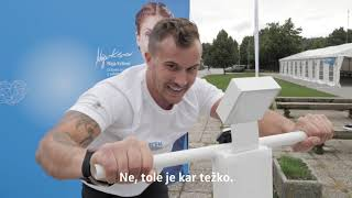 Anže Zavrl teče s srcem - Volkswagen Ljubljanski maraton