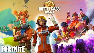 NEW FORTNITE SEASON 3 BUYING SPREE -BATTLE PASS BUNDLE ,SKINS ,GLIDE TRAILS AND MORE!!!