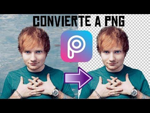 Como Hacer Una Imagen PNG En PicsArt | 2 METODOS