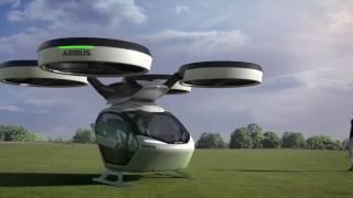 Airbus Pop Up La prima macchina volante - Salone di Ginevra 2017 auto drone