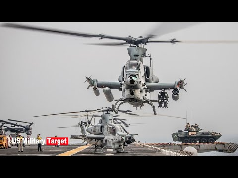 Congratulation: US Marine Corps unit received its first set of new attack helicopters.