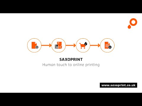 Online printing with SAXOPRINT – How it works