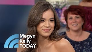 Hailee Steinfeld Talks About Her Upcoming Appearance On 'The Voice'    Megyn Kelly TODAY