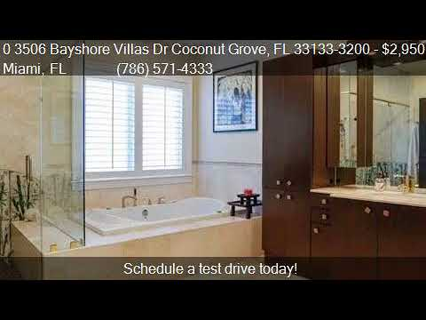 0 3506 Bayshore Villas Dr Coconut Grove, FL 33133-3200  for