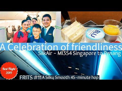 (TRIPREPORT) SilkAir Economy Class Flight Experience: MI354 Singapore to Penang