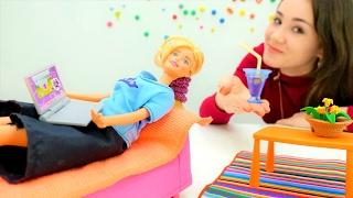 Поднимаем #Барби настроение! Видео для девочек. #Одевалки и куклы на Лайкландия.